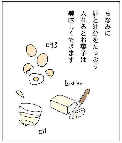 漫画「てんでダメな日にカップケーキを焼く話」