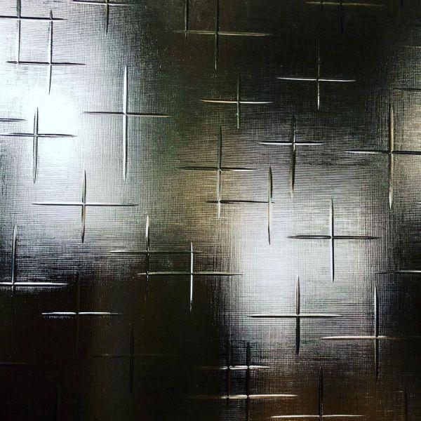 昭和型板ガラス「かすり」