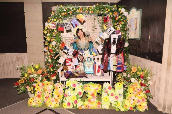 SKE48を卒業した松井珠理奈さんと卒業ディスプレイ