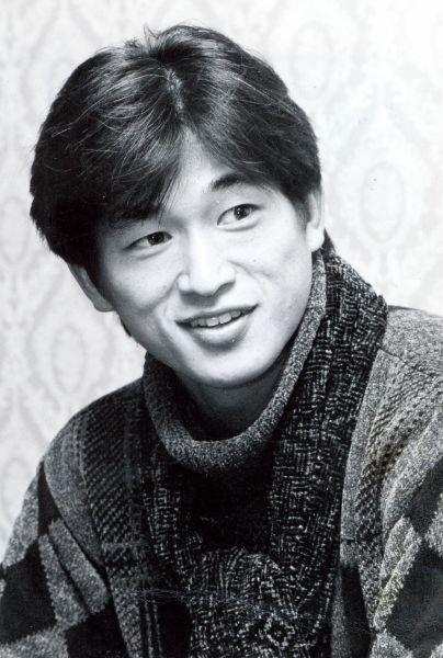 1993年5月に始まるJリーグのエースとして期待される三浦知良選手=東京・芝公園の東京プリンスホテルで=1992年12月8日