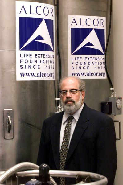 テッド・ウィリアムズの体が冷凍保存されているとされる施設=2002年12月、ロイター