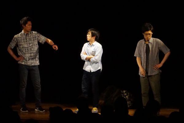 2017年、仮屋さんが入りトリオになった青色1号のライブ