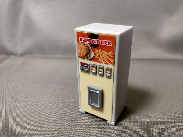 レトロ自販機マスコットのハンバーガーA