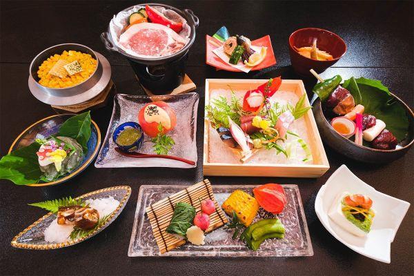 七沢荘の料理