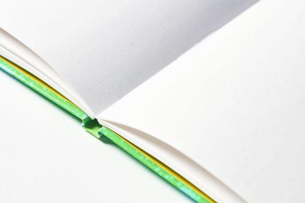 中には5ミリ四方のドット式方眼が印刷されている