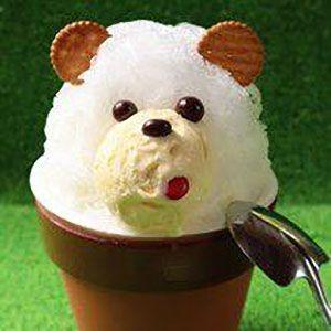 かき氷「ミルクん」