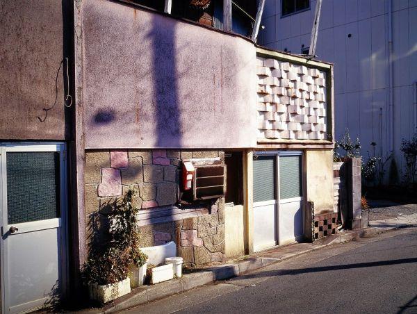 【1998年 茨城・水戸】水戸駅近くの赤線跡にあったカフェー建築