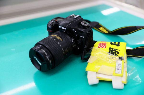前田健汰記者のカメラ=2021年10月1日午後0時25分、山口市、金子淳撮影