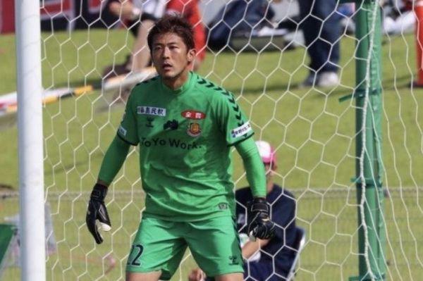 J3福島でプレーするGK山本海人(C)Fukushima united FC