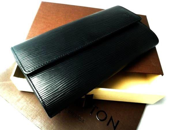 ルイヴィトン二つ折り長財布