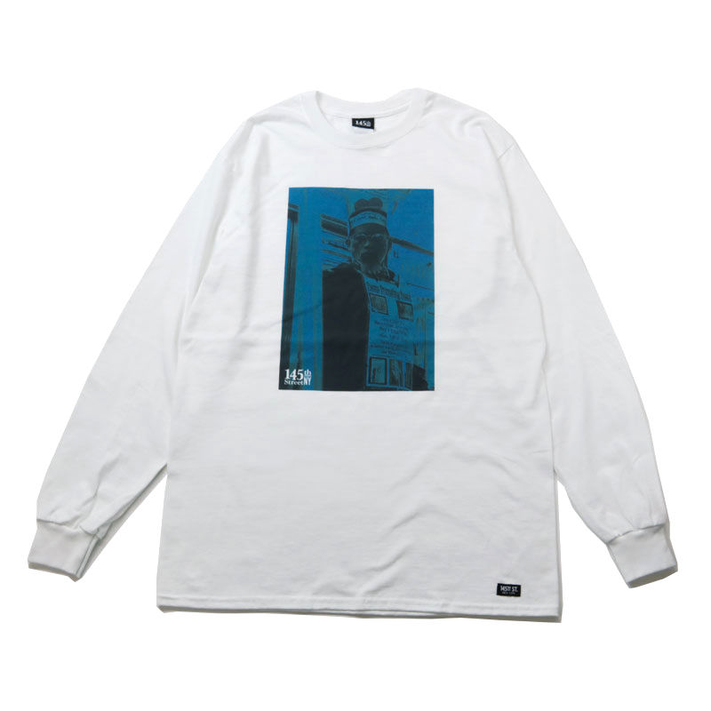 145St NY / POEMMAN LONG-TEE [WHITE]