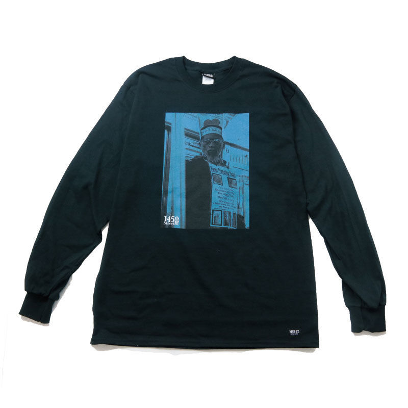 145St NY / POEMMAN LONG-TEE [BLACK]