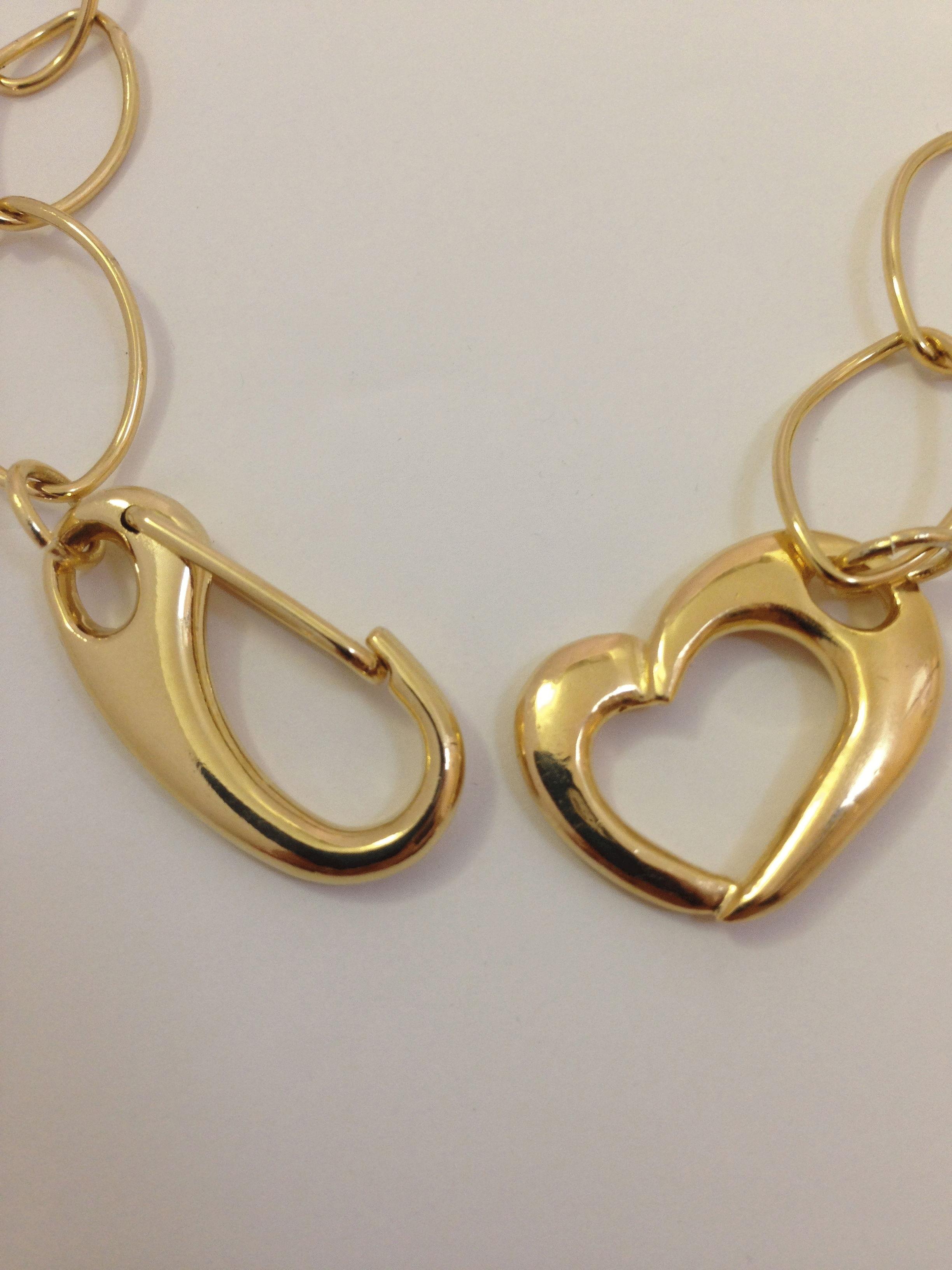 Grass Necklace HEART