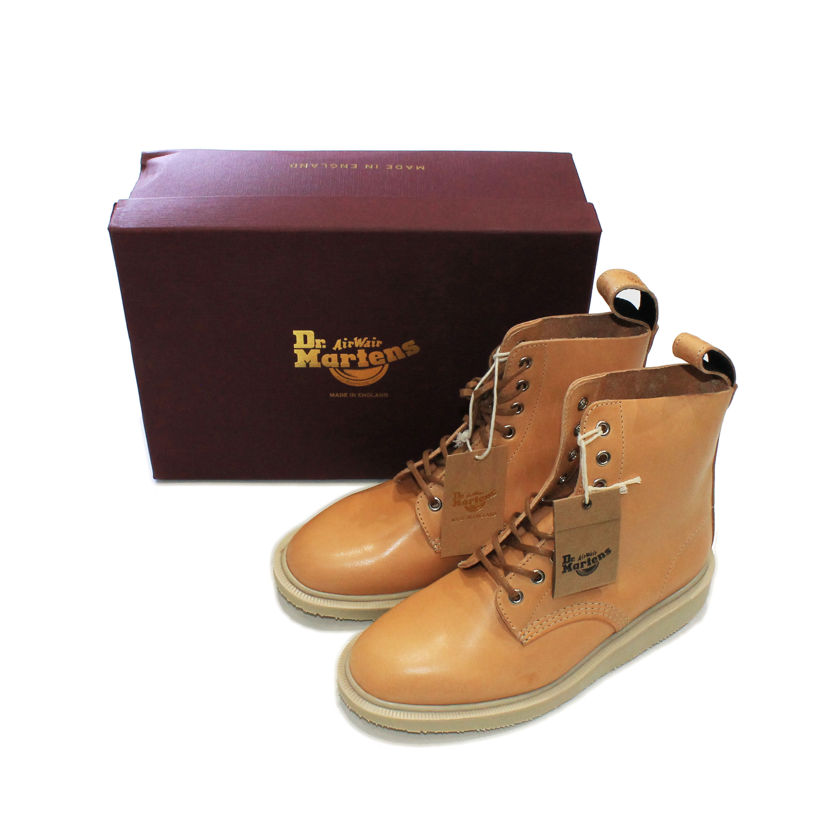 Dr.Martins Butteroscotch Boots Box  UK6 from family style