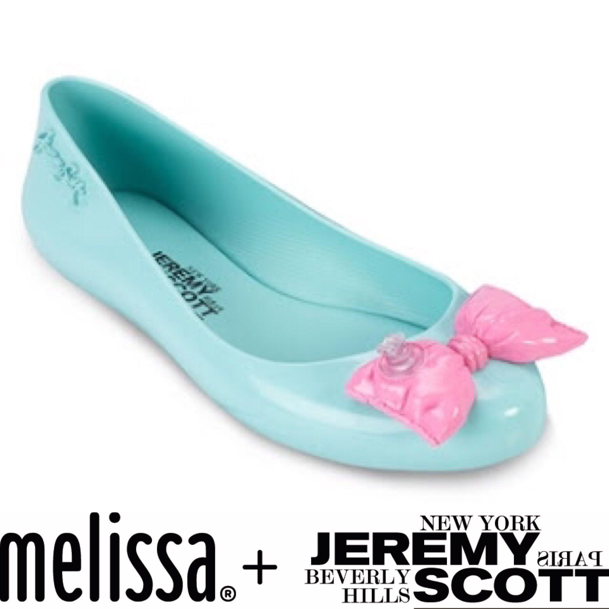 レディース☆正規輸入☆メリッサとジェレミースコットコラボ☆リボンバルーン Melissa Ballon Ribbon flats