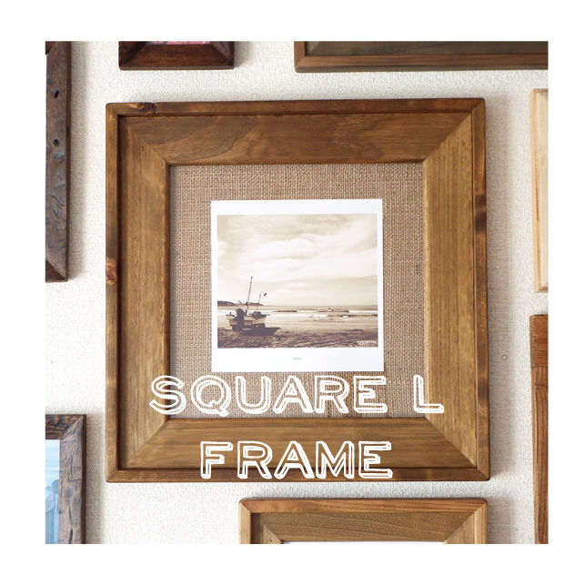 Drift Frame【 SQ_L / GOLDEN OAK 】