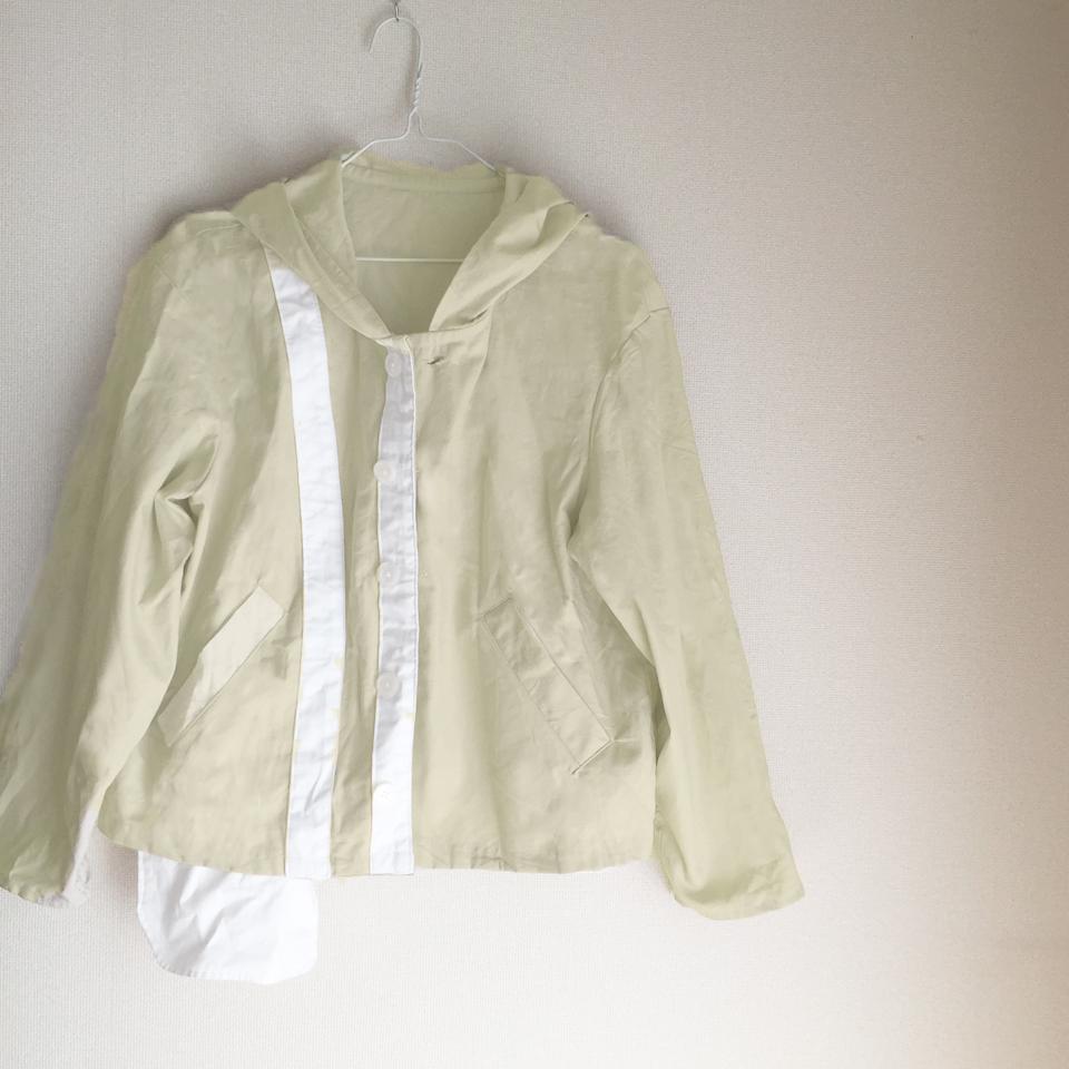 都会的に着るのがセオリー、ジャケット