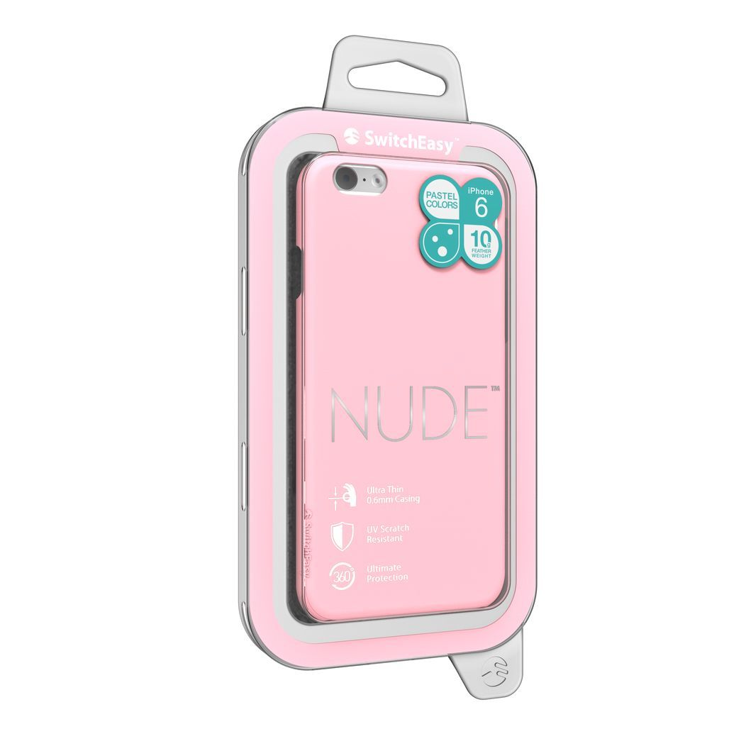 SwitchEasy NUDE color BABYPINK for iPhone6