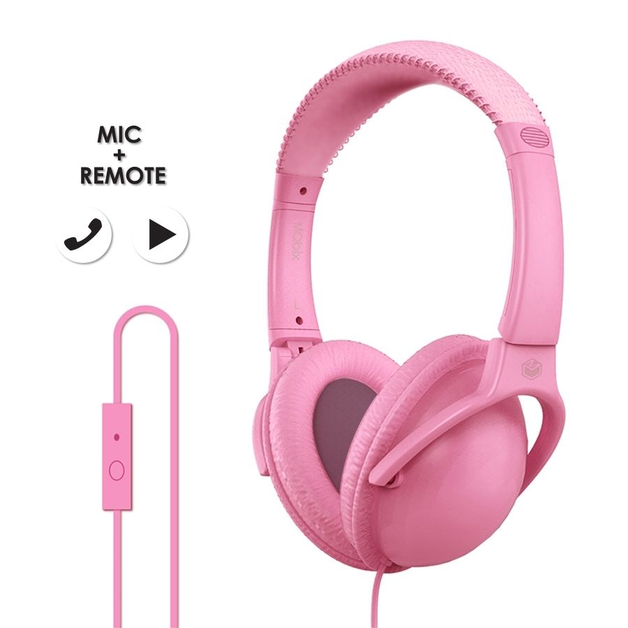 MQbix Acoustics Co.  MQHT560  Stereo Headphone PINK