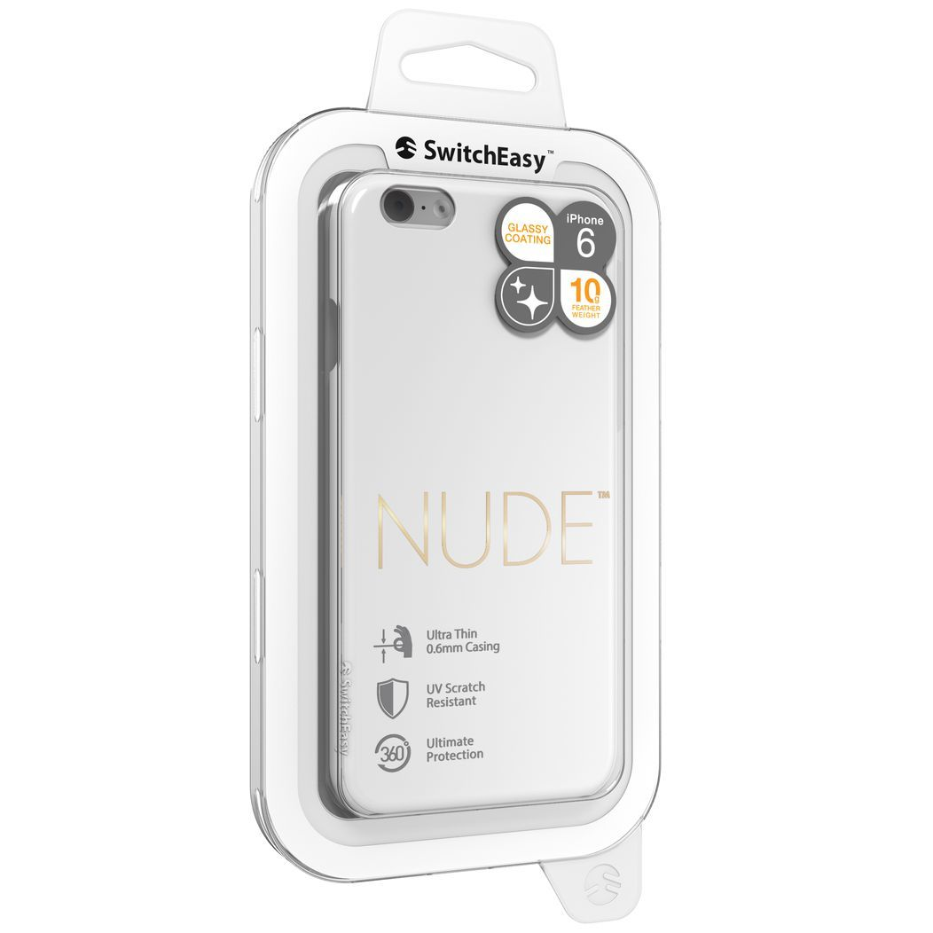 SwitchEasy NUDE color WHITE for iPhone6