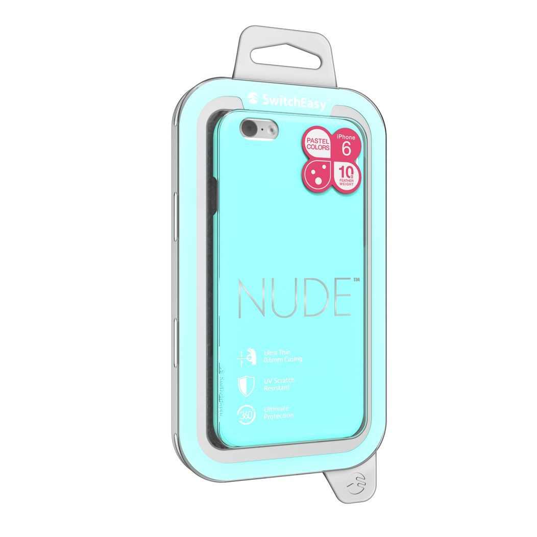 SwitchEasy NUDE color MINT for iPhone6