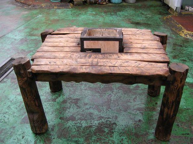 バーベキューダイニングテーブル1090