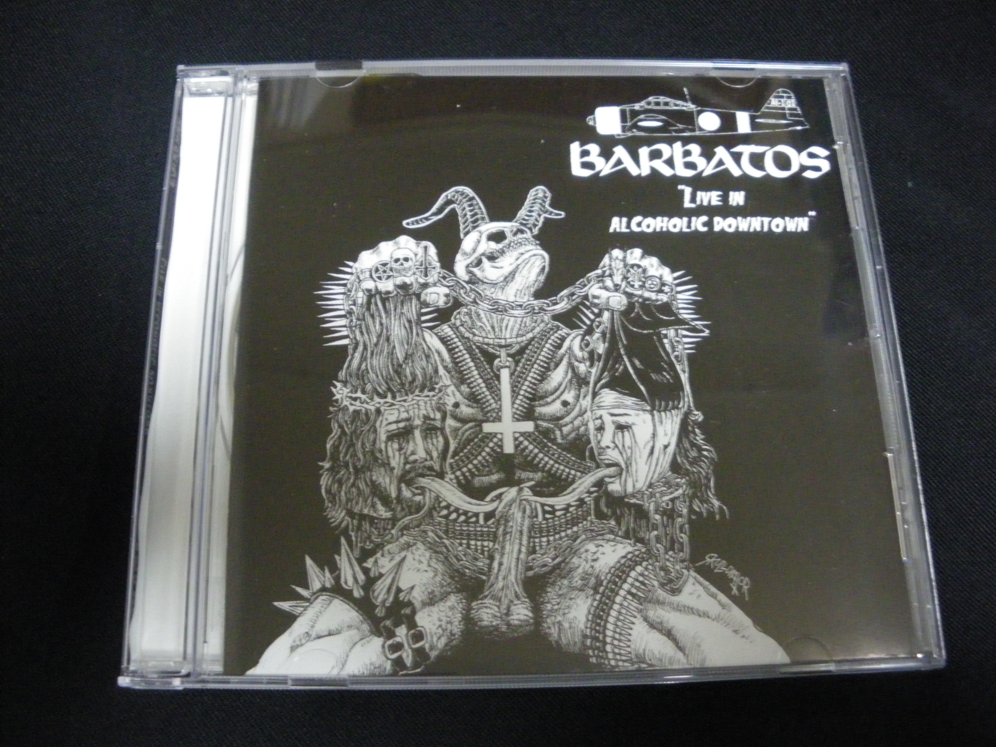 "Barbatos ""Live in alcoholic Downtown"" Live CD"