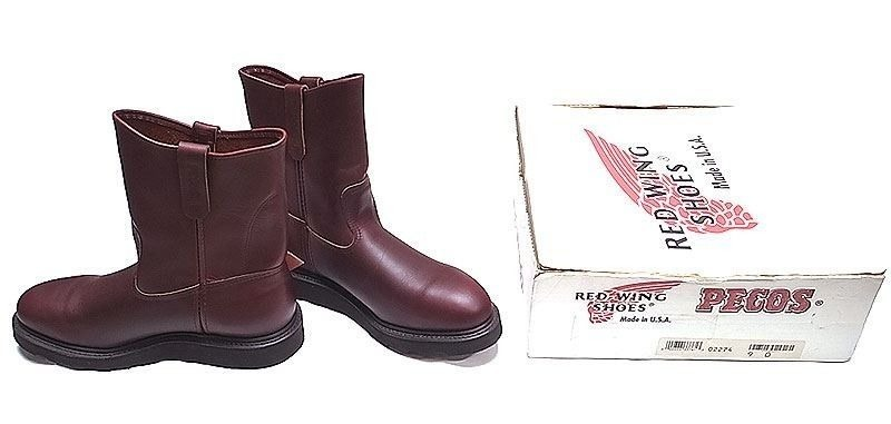 Deadstock 2000'S RED WING 2274 9inch Pecos STEEL TOE(PT91) USA製 箱付
