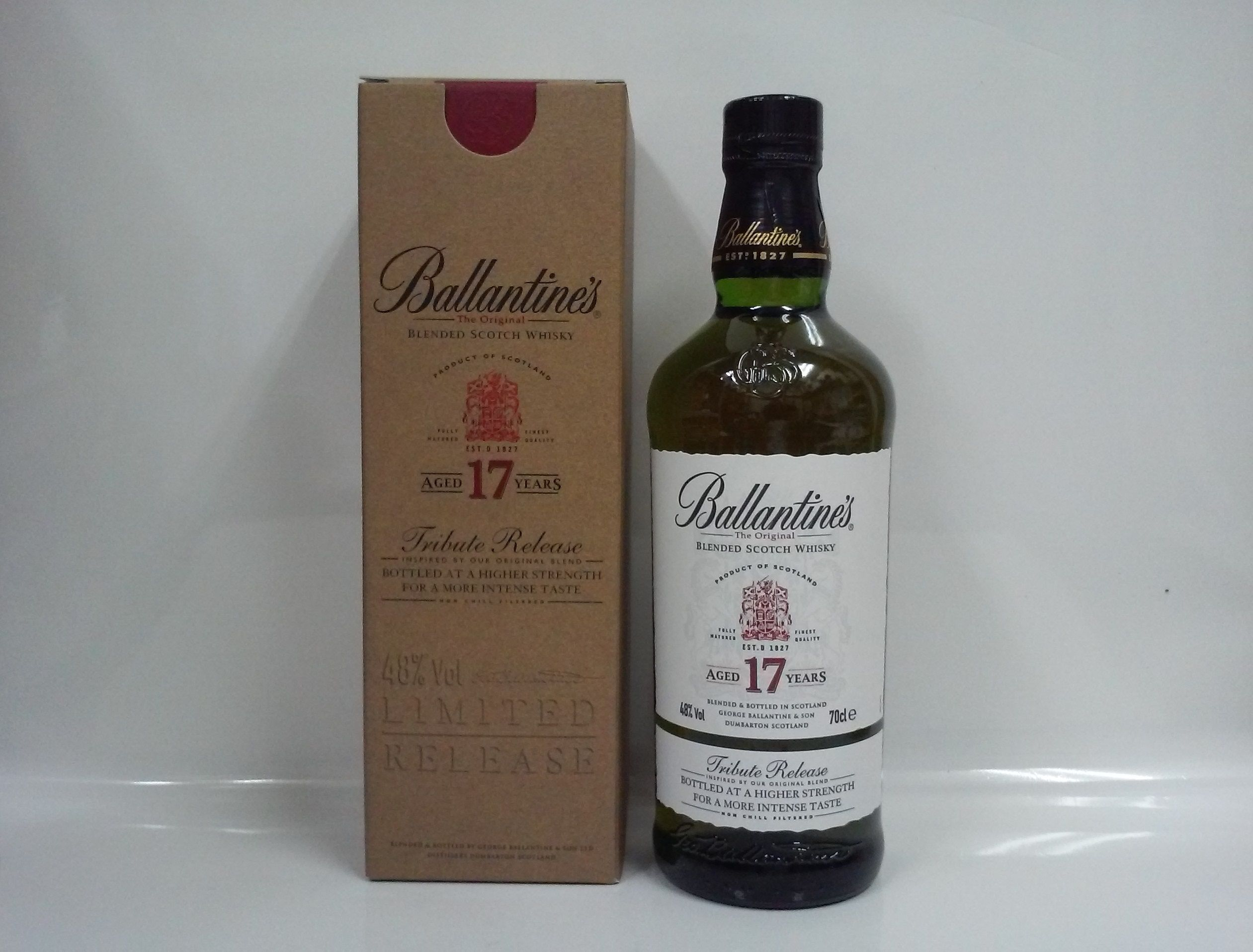 バランタイン17年 トリビュートリリース 48% 700ml Ballantine's 17Years  TributeRelease