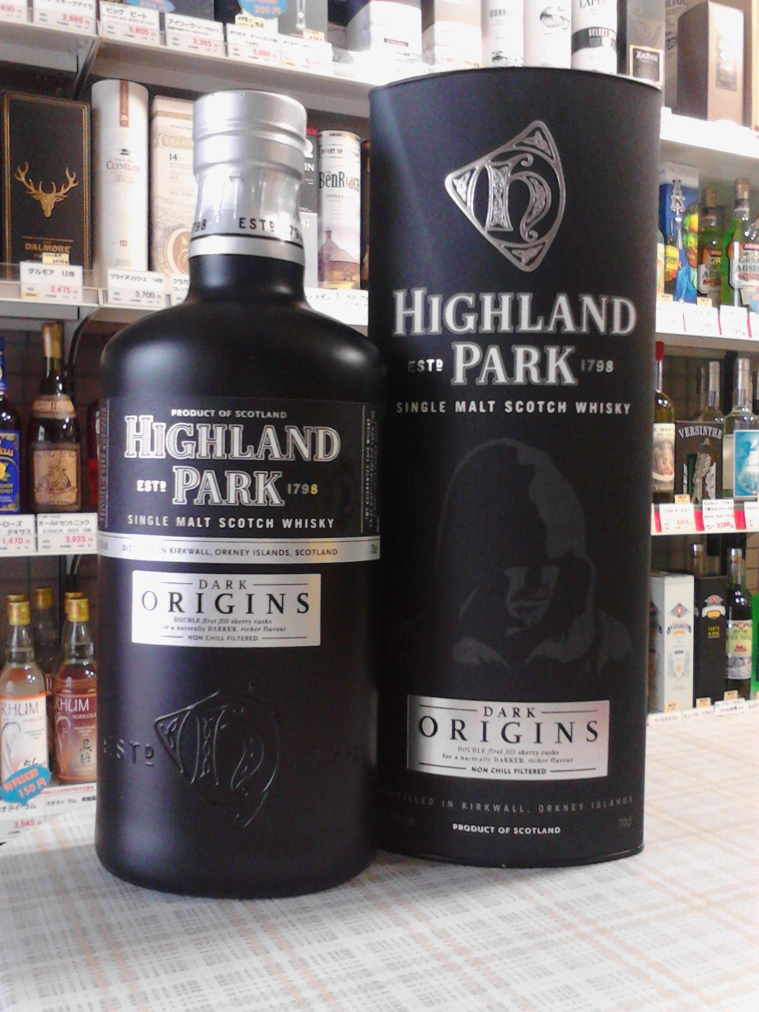 ハイランドパーク ダークオリジンズ 46.8% 700ml HIGHLAND PARK DarkOrigins