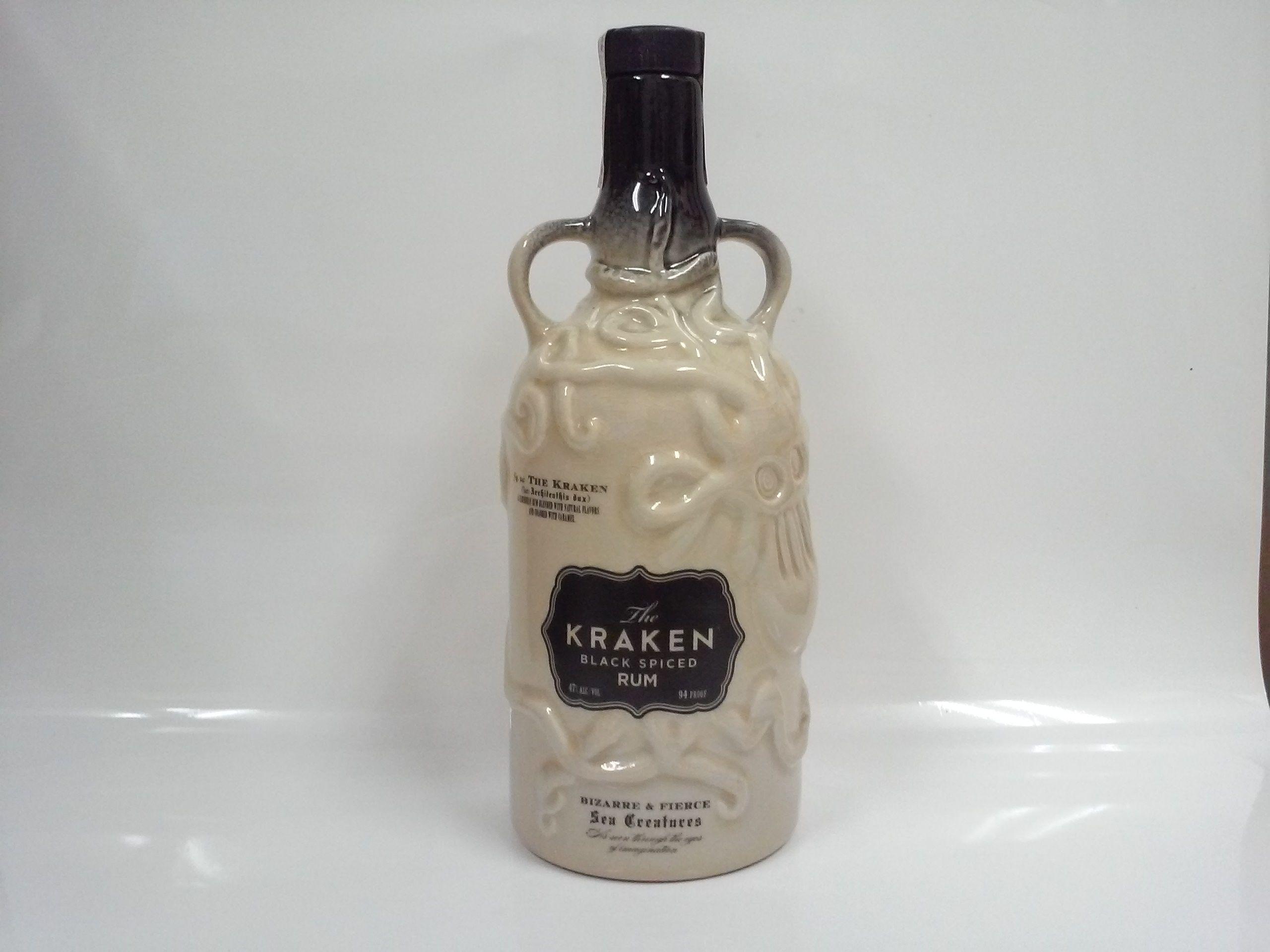 クラーケン ブラック スパイスド ラム セラミックボトル 47% 750ml THE KRAKEN BLACK SPICED RUM CERAMIC BOTTLE