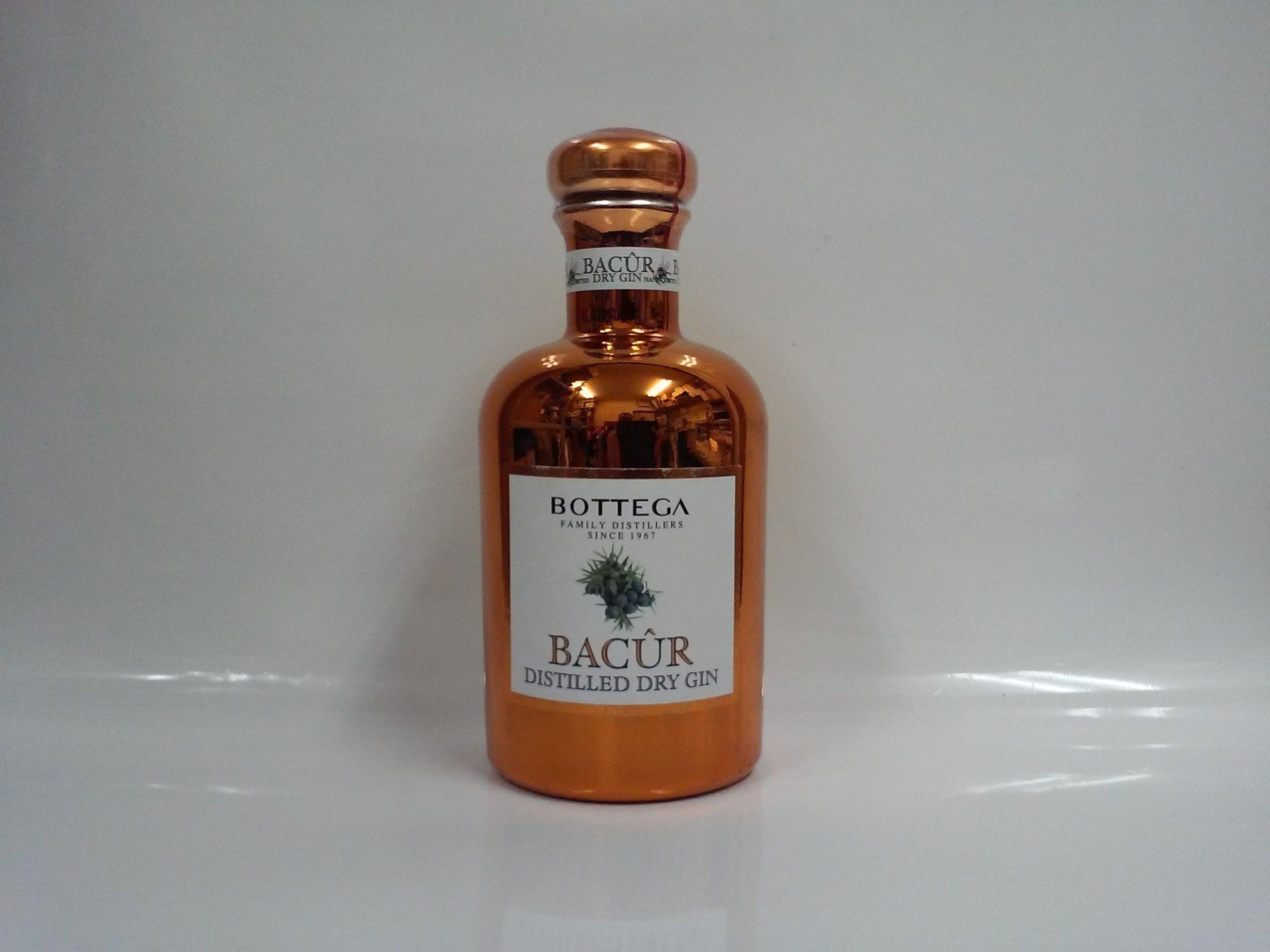 ボッテガ バクール・ドライジン 40% 500ml(イタリア) BOTTEGA Bacur Dry Gin
