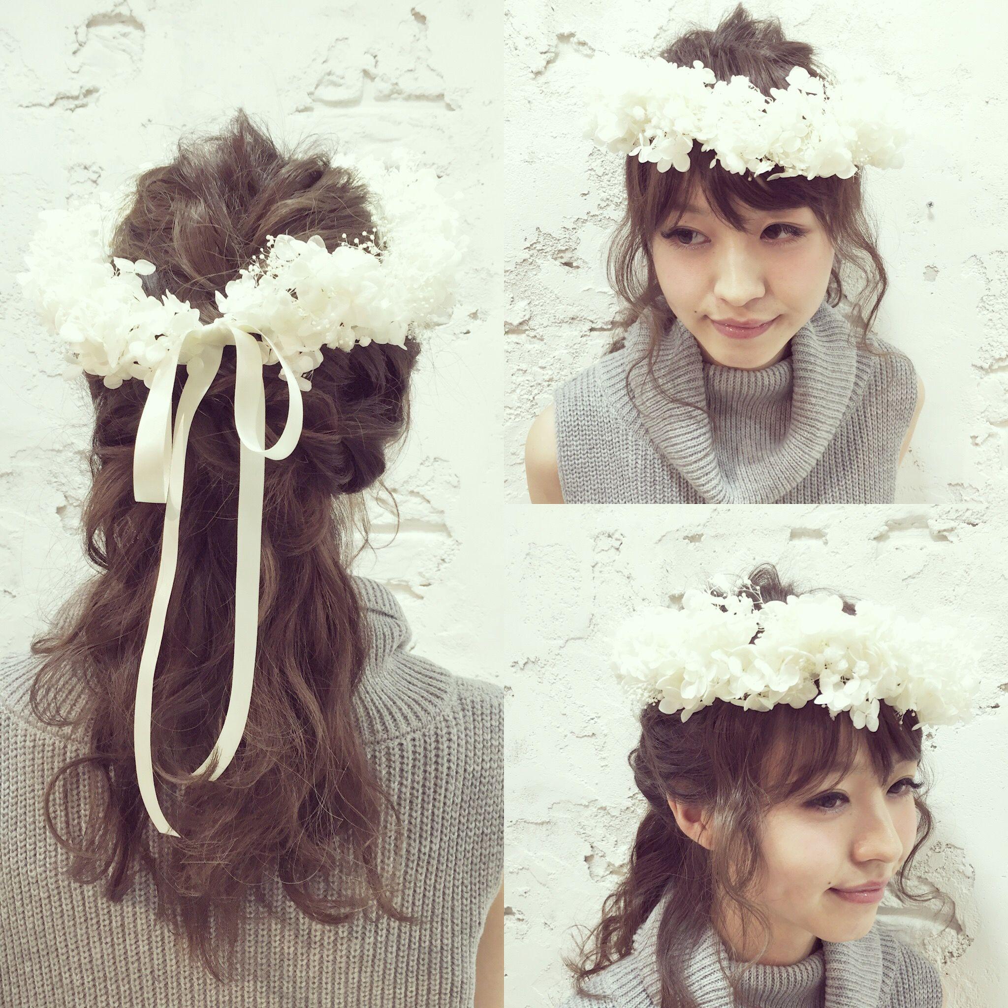 【花冠】~ホワイトアナベル~