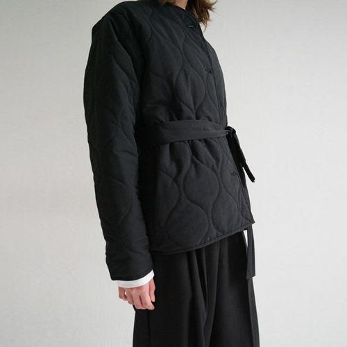 no collar quilting jacket