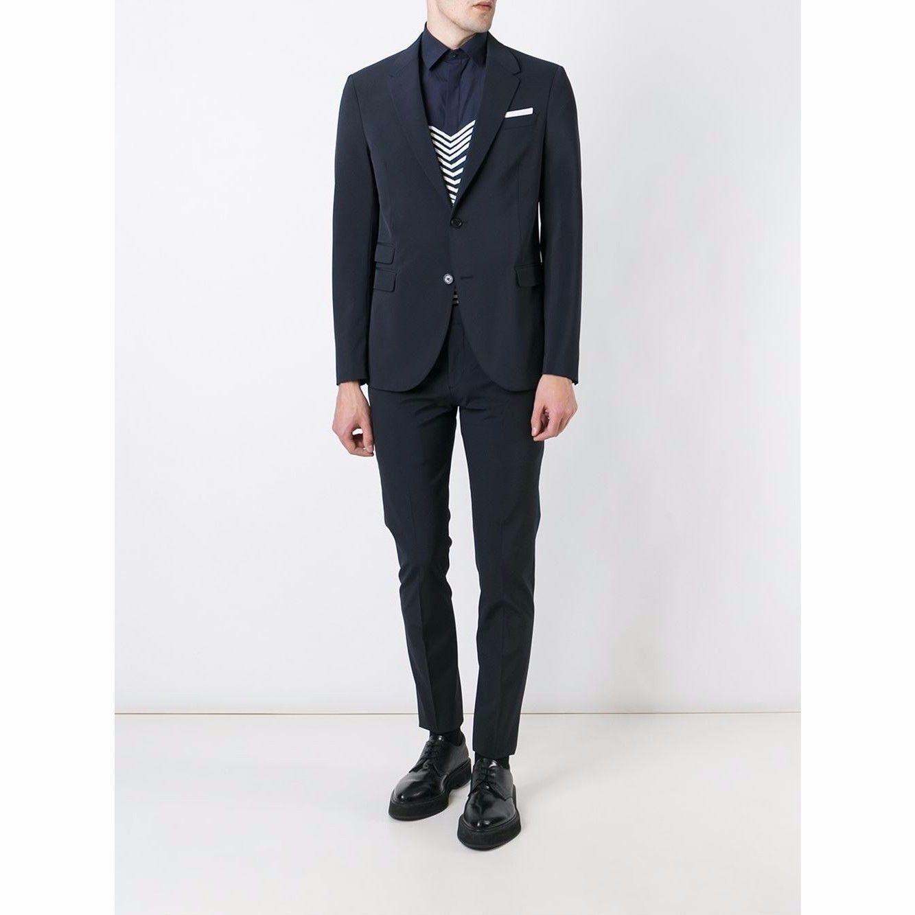 Neil Barrett - ニールバレット /2Piece Formal Suit  (Navy) 2ピースフォーマルスーツ ネイビー