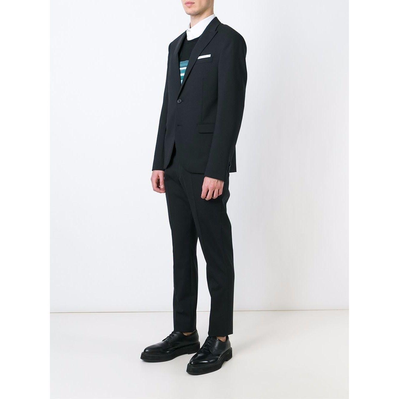 Neil Barrett - ニールバレット /2Piece Formal Suit  (Black) 2ピースフォーマルスーツ 黒