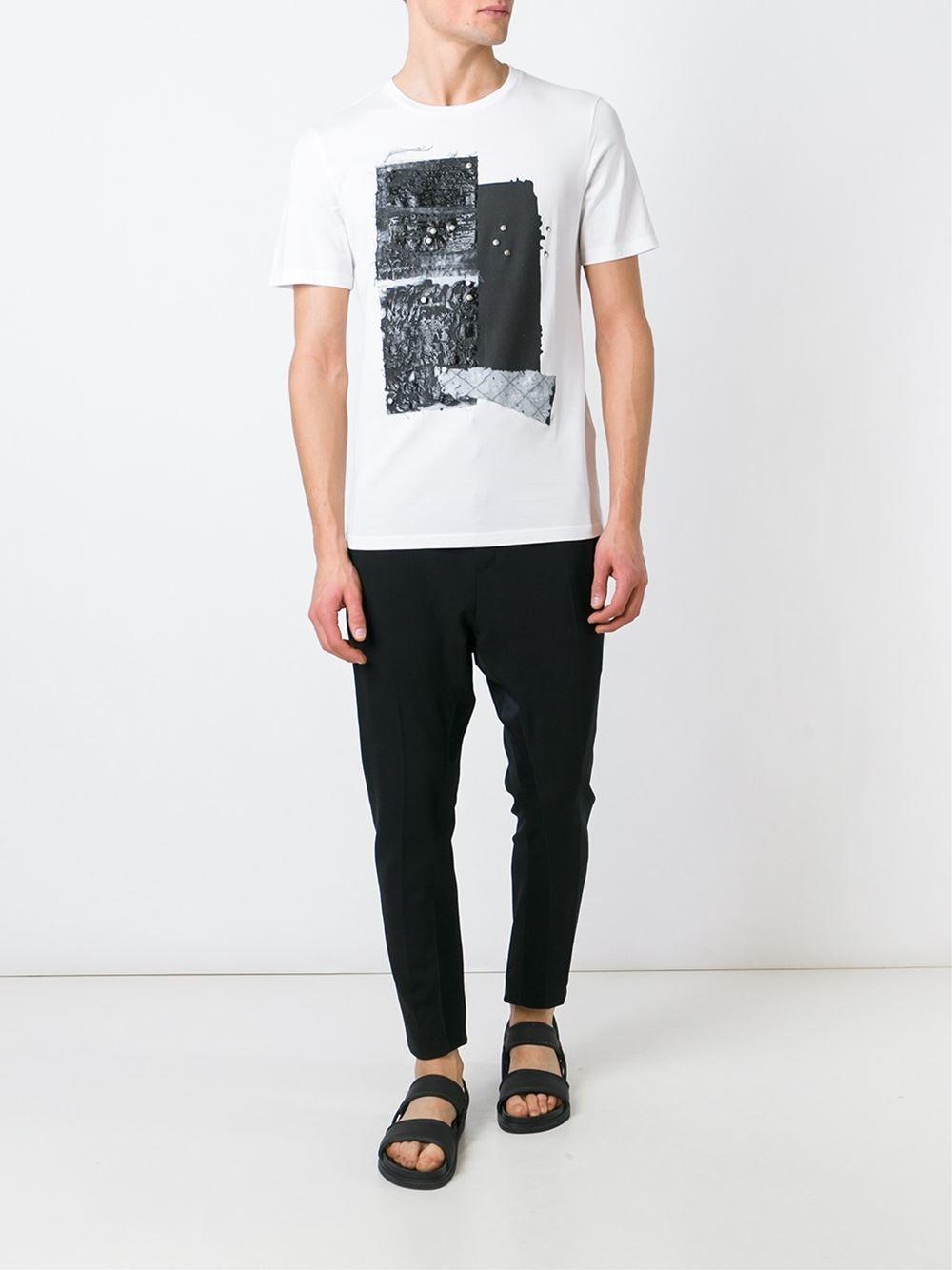 MAISON MARGIELA /// メゾンマルジェラ Textured T-Shirts (Wht) テクスチャードTシャツ 白