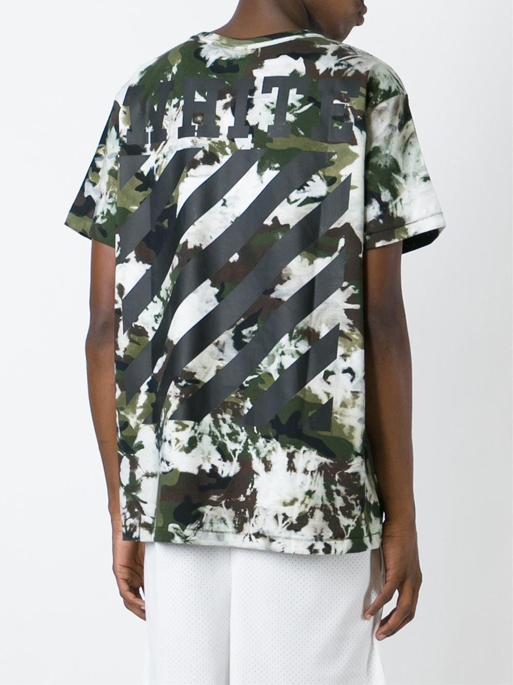 OFF-WHITE C/O VIRGIL ABLOH  /// Camo T-Shirts 2016 S/S - オフホワイトケアオブヴァージルアブロー カモ柄Tシャツ