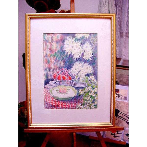 *ガーデン*複製カラーペンシル画/A4