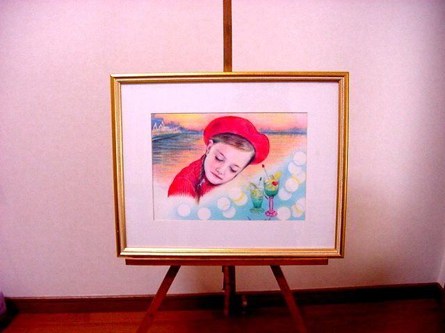 *夢の中へ*複製カラーペンシル画/A4サイズ