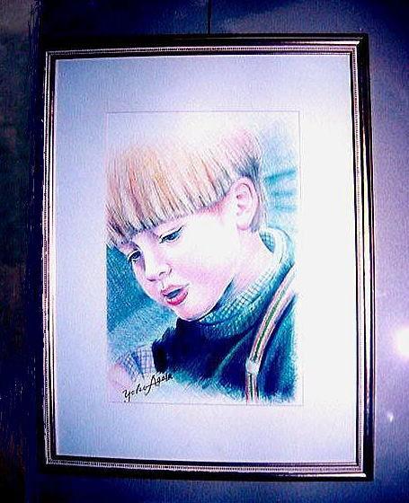 *カラーペンシル画 /オーダー絵画パックA5サイズ