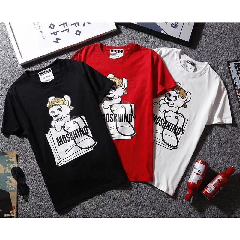 【Agemi  STORE】モスキーノ  Tシャツ    半袖   トップス    男女兼用   age-811
