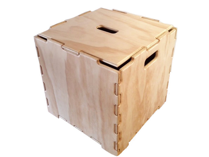 【 ClickPly 】STACKBLE BOX CUBES