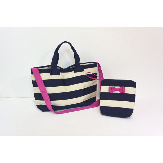 BAG&POECH SET(MOTHERS BAG コン×クリーム)
