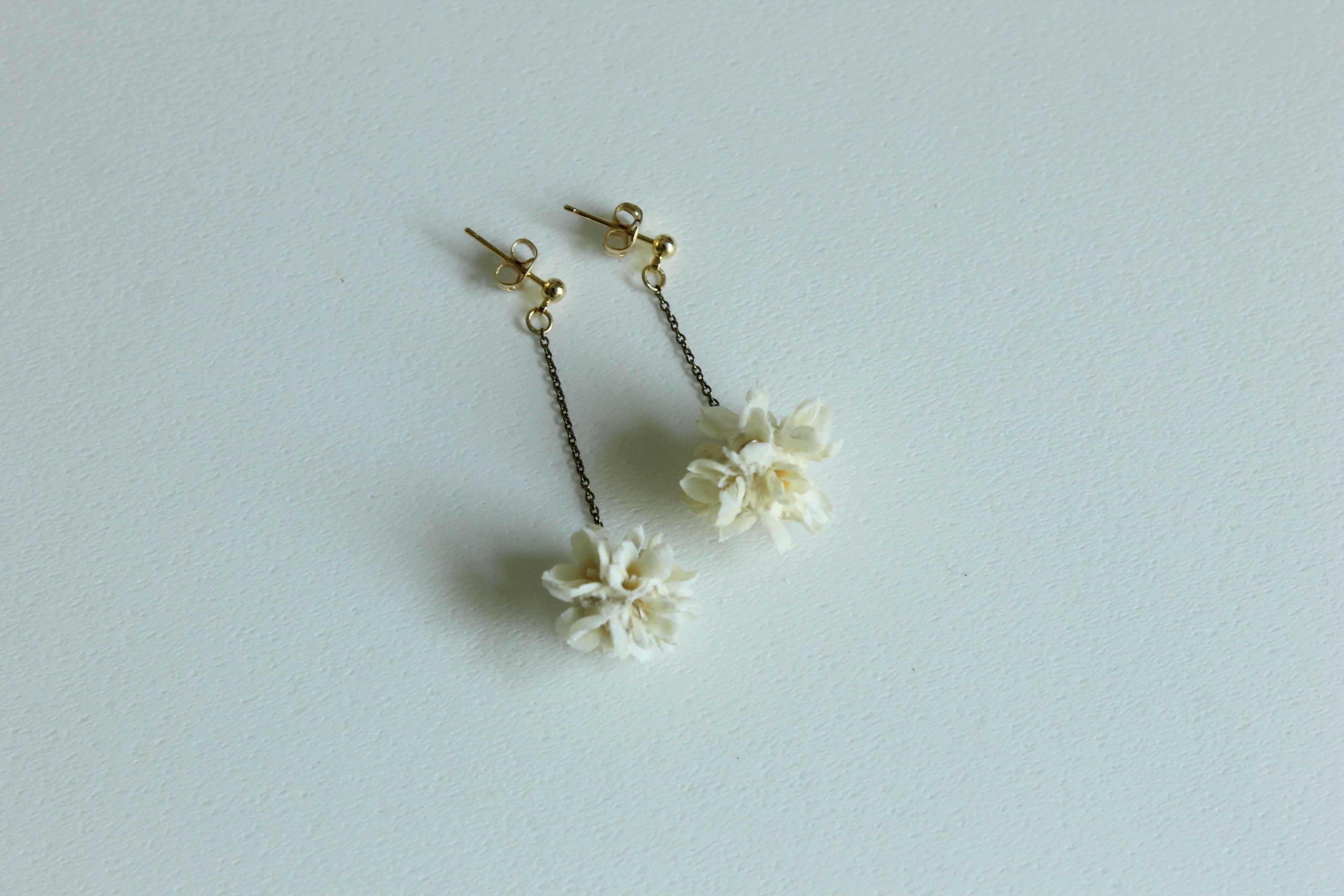 ピアス -flower corn-