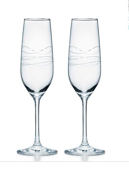 【Tiffany&Co】シャンパン グラス セット
