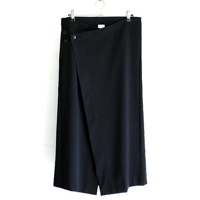 【albino】 ポンチョアレンジロングフラップスカート