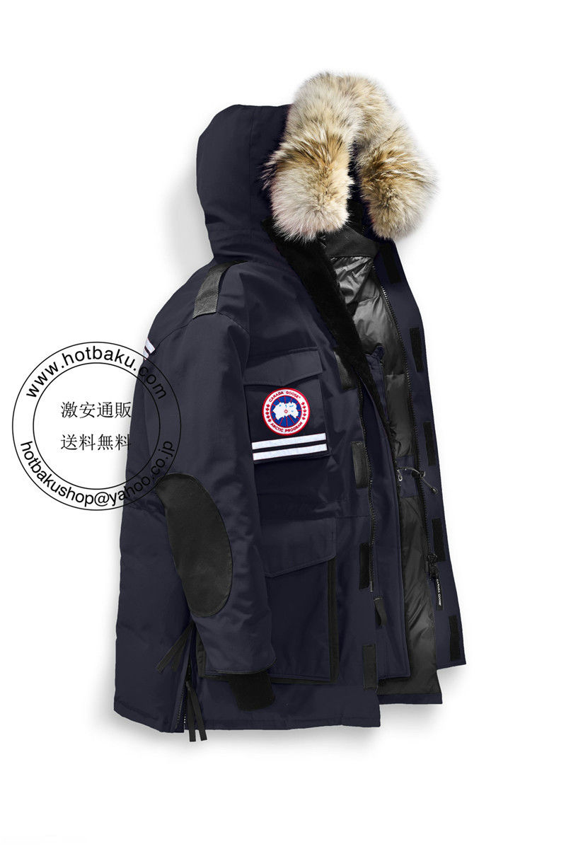 新作2018低価格カナダ グース ダウンジャケット Snow Mantra Parka Navy カナダ グース メンズ 商品番号:9501MP1P2