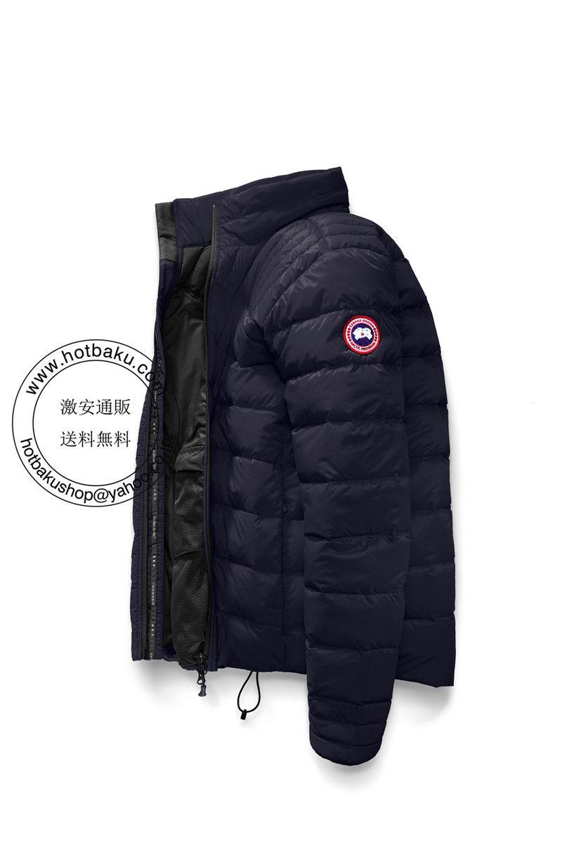 安い2018カナダ グース ダウンジャケット Brookvale Jacket Deep Sea Blue/black カナダ グース メンズ