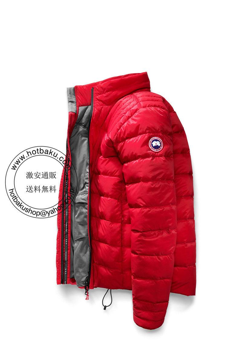 hot安いカナダ グース ダウンジャケット Brookvale Jacket Red カナダ グース メンズ